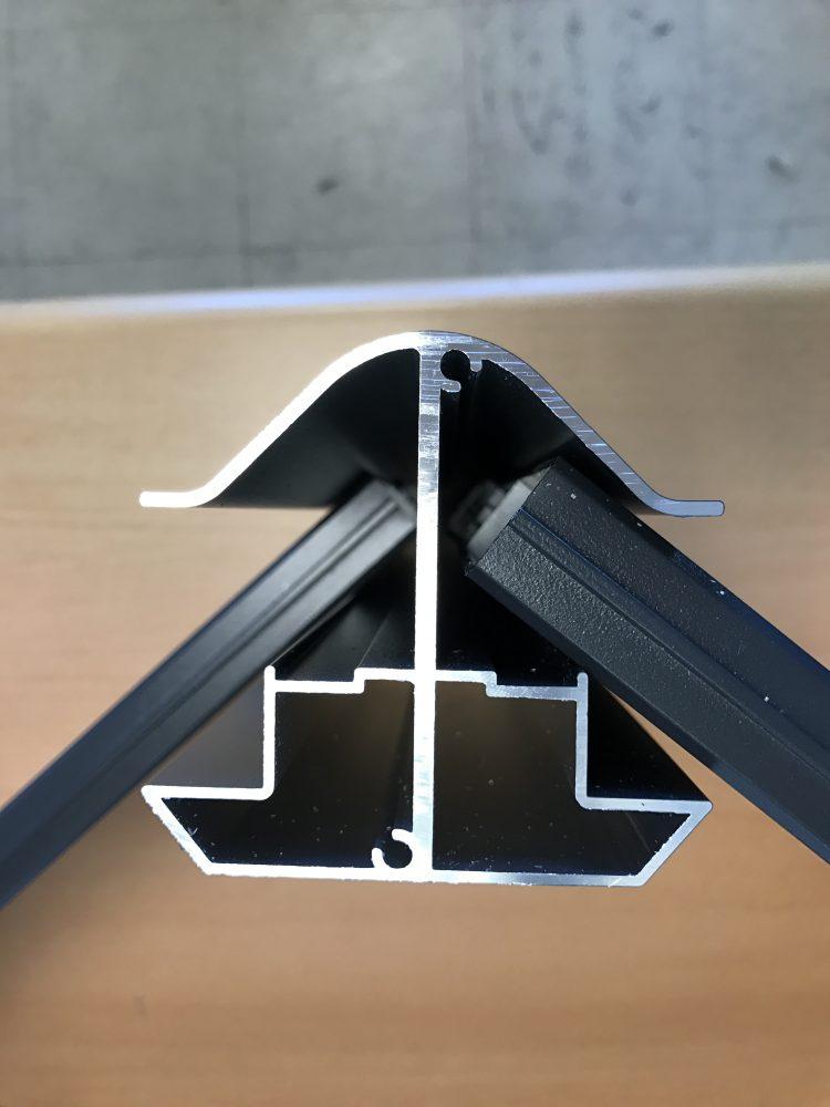 cl tures aluminium rigide pas cher en france belgique et luxembourg. Black Bedroom Furniture Sets. Home Design Ideas