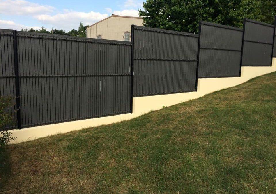 Vente panneaux rigides, grillage, clôture, occulta…