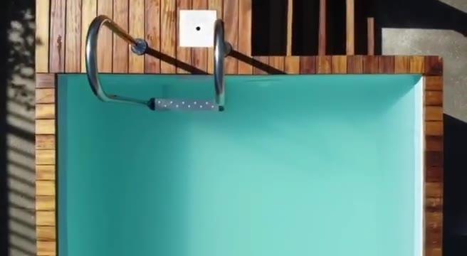 Piscine  kit complet prêt à plonger   Longueur de …